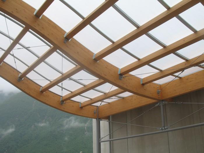 Copertura In Legno Lamellare : Strutture di copertura in legno lamellare ed acciaio studio zilli